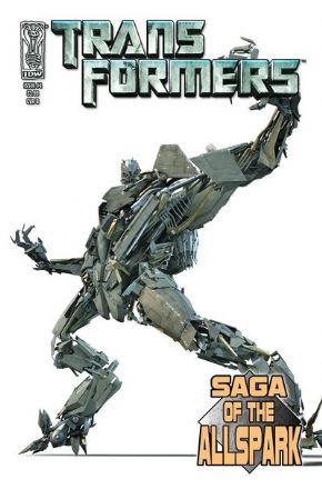 Transformers Saga Of The Allspark #4 Cover B (2008) IDW Publishing comic book
